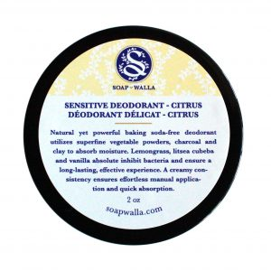 Soapwalla deodorant Sensitive