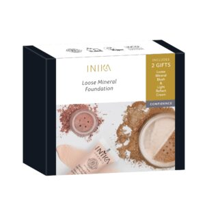 INIKA Loose Mineral Foundation Gift Set